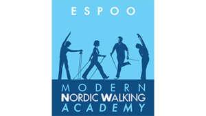 modern nordic walking