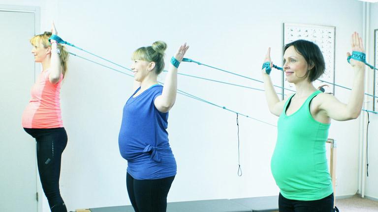 raskausajan pilates tunti